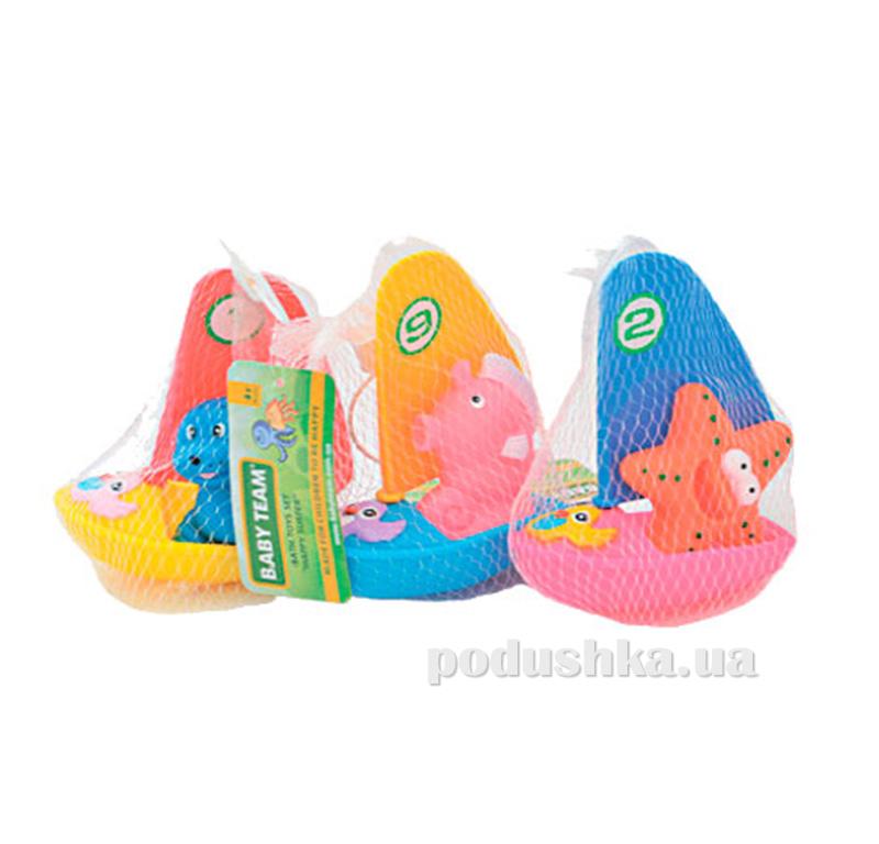 Набор игрушек для ванны Веселый сёрфер Baby Team AKT-9007