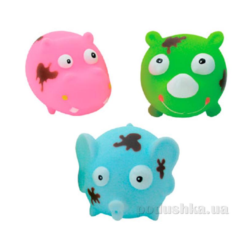 Набор игрушек для ванны Замурзанные зверушки Baby Team AKT-9010