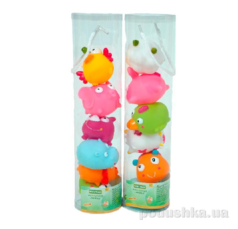 Набор игрушек для ванны Зверушки Baby Team AKT-9012