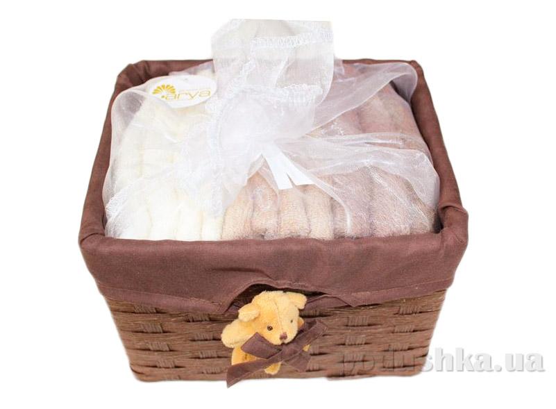 Набор из 12 махровых полотенец Arya Honey