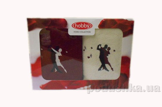 Набор из 2 махровых полотенец Hobby Tango