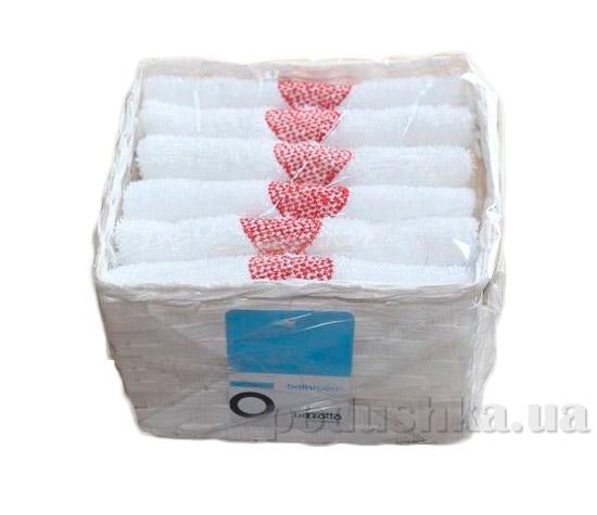 Набор из 6 махровых полотенец Arya Love story в белой плетеной коробке