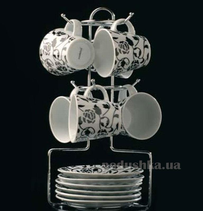 Набор из 6-и чашек на подставке Cook and Co BergHOFF