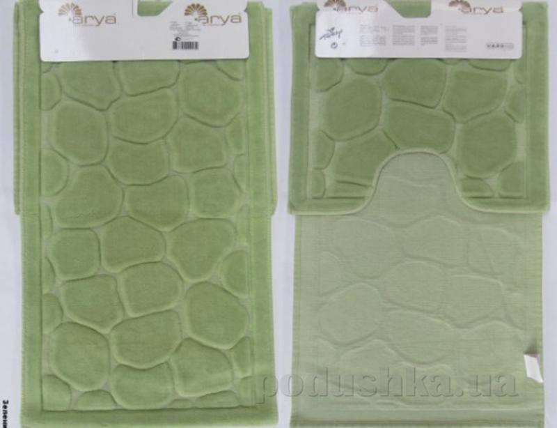 Набор из двух ковриков для ванной Arya 1380042 Tas зеленый