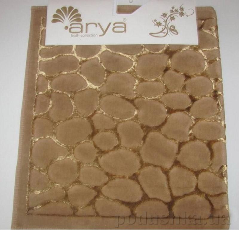 Набор из двух ковриков для ванной Cakil Arya 1380038 Коричневий