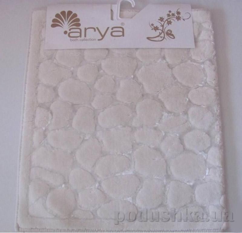 Набор из двух ковриков для ванной Cakil Arya 1380038 кремовый