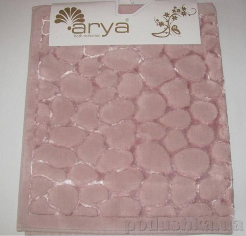 Набор из двух ковриков для ванной Cakil Arya 1380038 розовый
