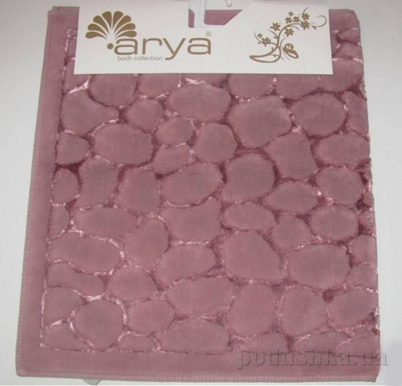 Набор из двух ковриков для ванной Cakil Arya 1380038 темно-розовый