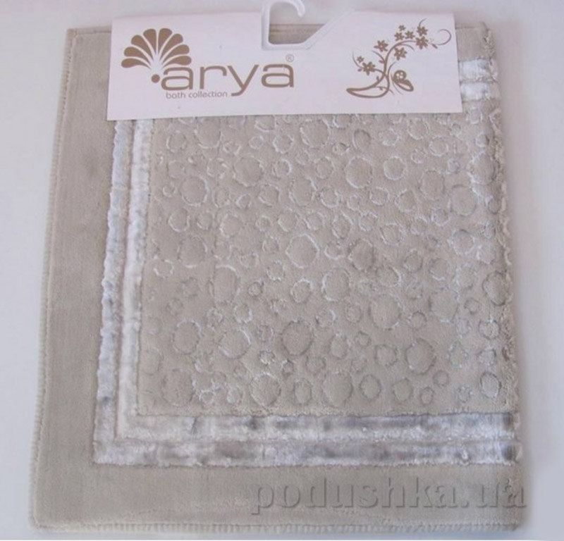 Набор из двух ковриков для ванной Hitit Arya 1380038 бежевый