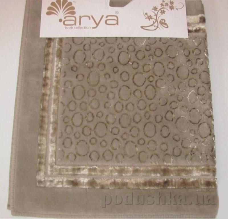 Набор из двух ковриков для ванной Hitit Arya 1380038 Коричневий