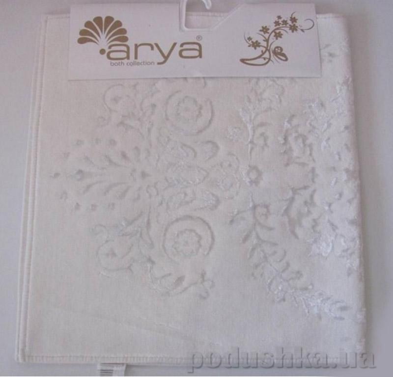 Набор из двух ковриков для ванной Luxor Arya 1380064 белый