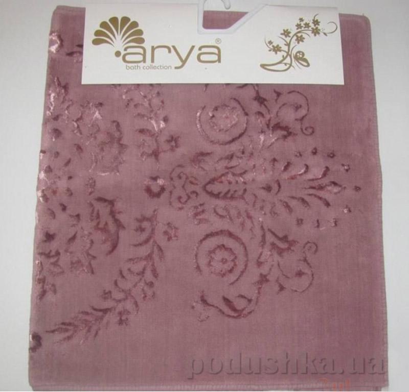 Набор из двух ковриков для ванной Luxor Arya 1380064 грязная роза