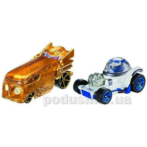 Набор из двух машинок-героев Hot Wheels из серии Star wars в ассортименте