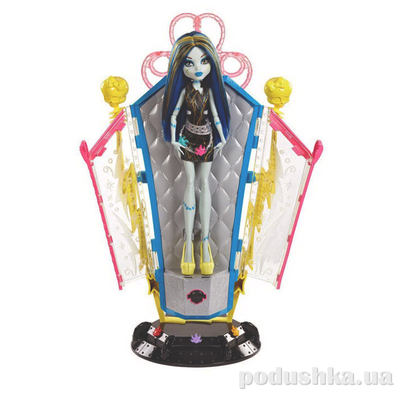 Набор Камера перезарядки с Фрэнки Штейн из м/ф Причудливая смесь Monster High BJR46