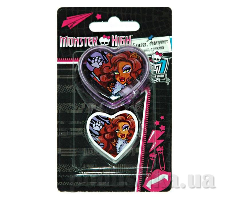 Набор канцелярский в блистере Monster High