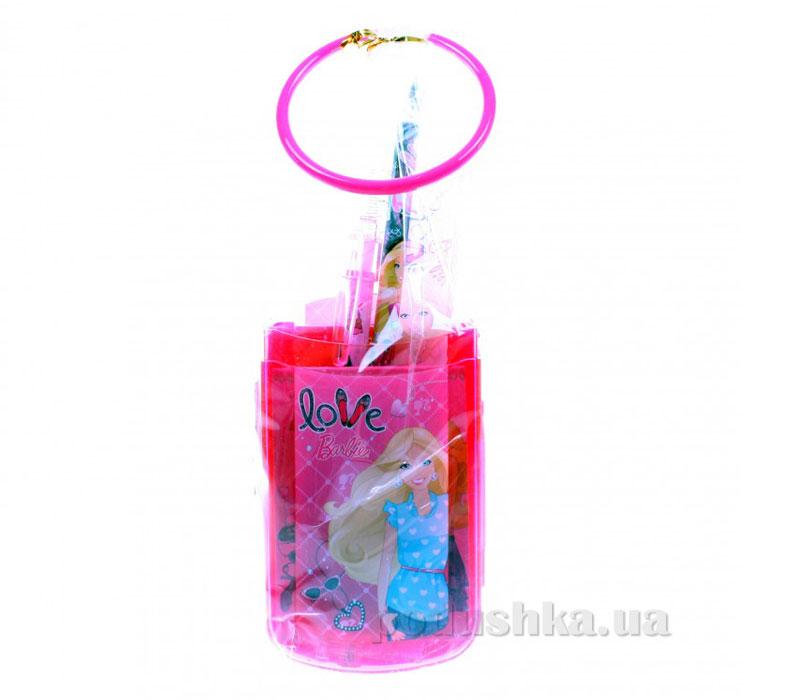 Набор канцелярский в пакете с кольцом Barbie