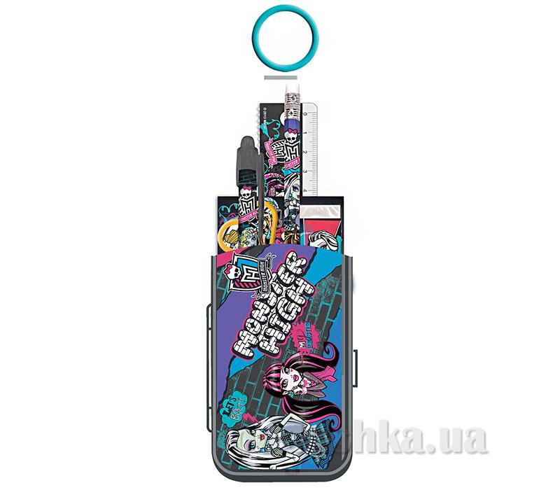 Набор канцелярский в пакете с кольцом Monster High