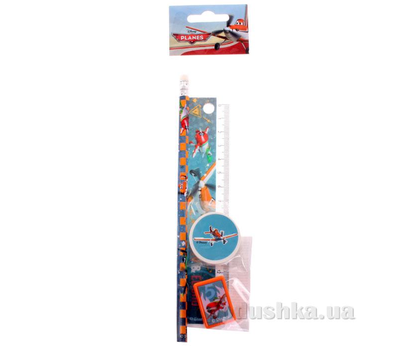 Набор канцелярский в пакете с подвесом Самолеты PLAB-US1-5020-H