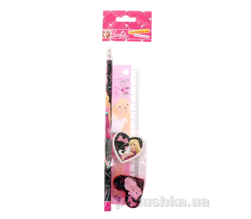 Набор канцелярский в пакете с подвесом Barbie BRAB-US1-5020-H