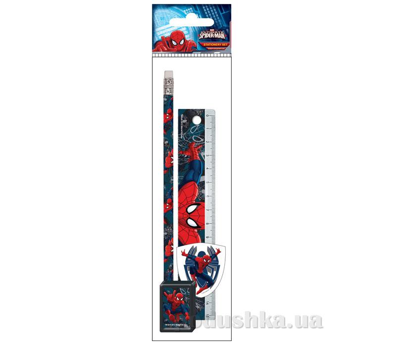 Набор канцелярский в пакете с подвесом Spider Man SMAB-US1-5020-H