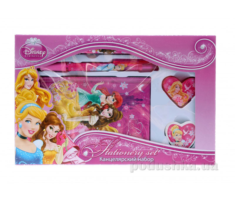 Набор канцелярский в подарочной коробке Princess PRAB-US1-360