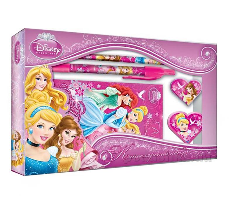 Набор канцелярский в подарочной коробке с вырубкой Princess PRBB-US1-360