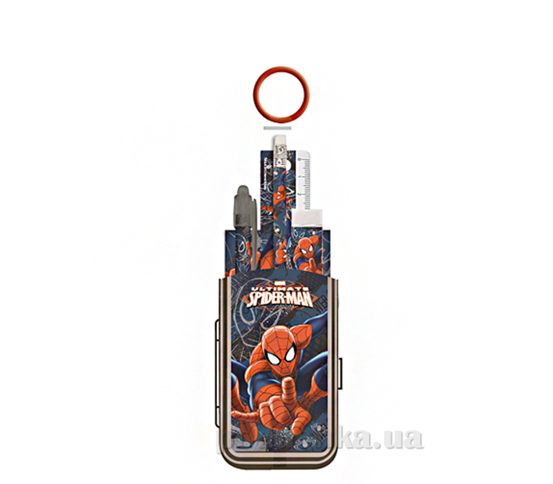 Набор канцелярский в ПП пакете с кольцом Spider-man SMBB-US2-75409-H