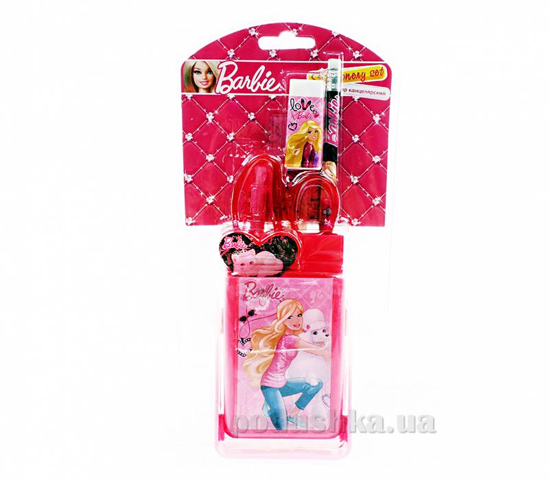 Набор канцелярский в прозрачном двухстороннем блистере Barbie