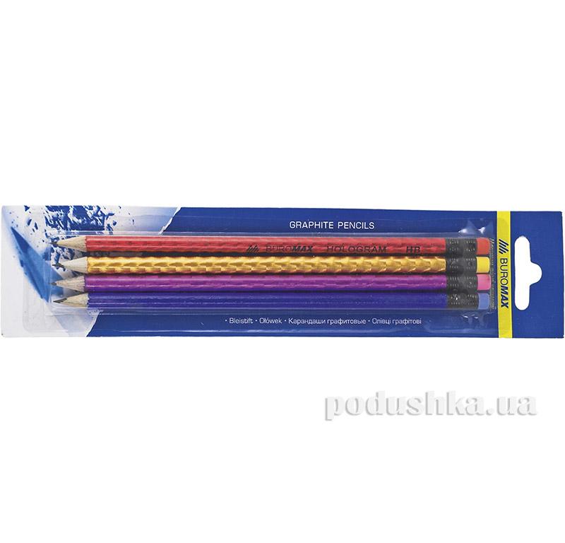 Набор карандашей HB Buromax BM.8522