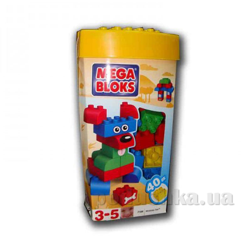 Набор конструктора Классический 7104 Mega Bloks