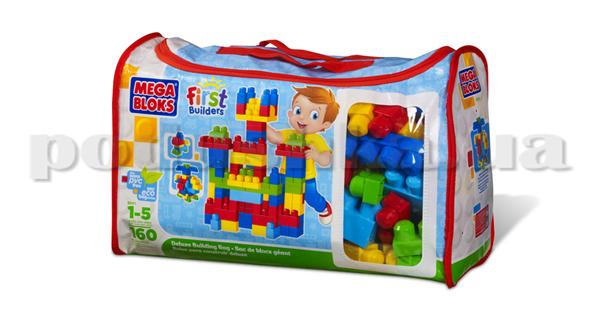 Набор конструктора в пакете 8001 Mega Bloks