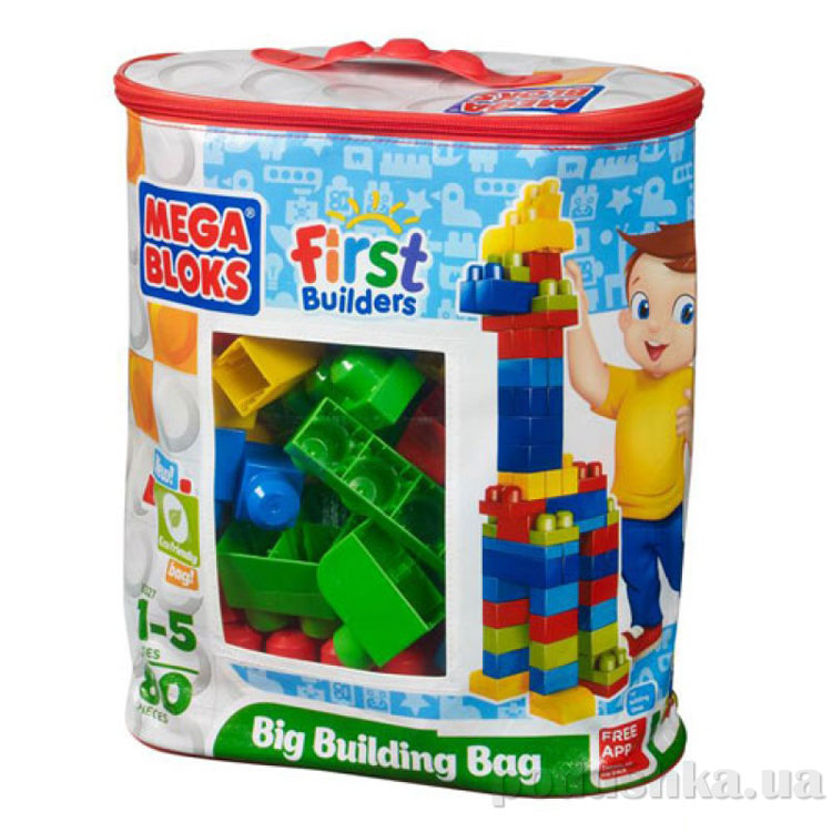 Набор конструктора в пакете Классический серии Первые строители 8327 Mega Bloks