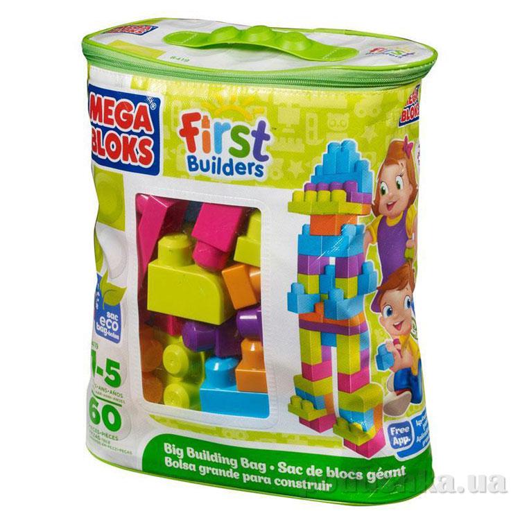 Набор конструктора в пакете серии Первые строители 8419 Mega Bloks