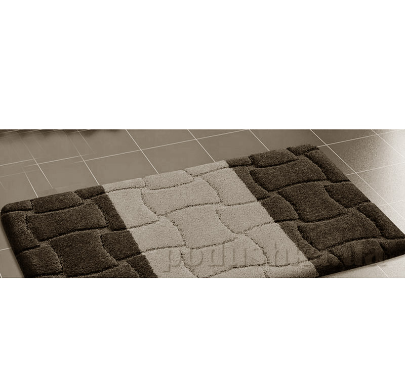 Набор ковриков для ванной Confetti Sariyer Black черно-серые