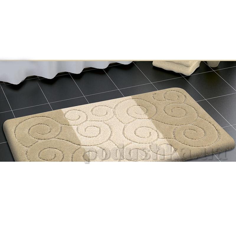 Набор ковриков для ванной Confetti Sile Beige бежевые