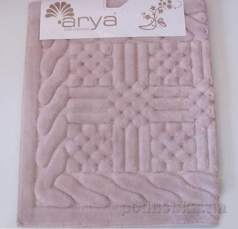 Набор ковриков для ванной комнаты Berceste Arya 1380036 светло-розовый