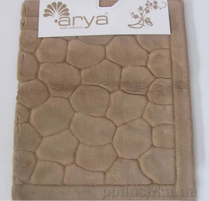 Набор ковриков для ванной комнаты Tas Arya 1380042 коричневый
