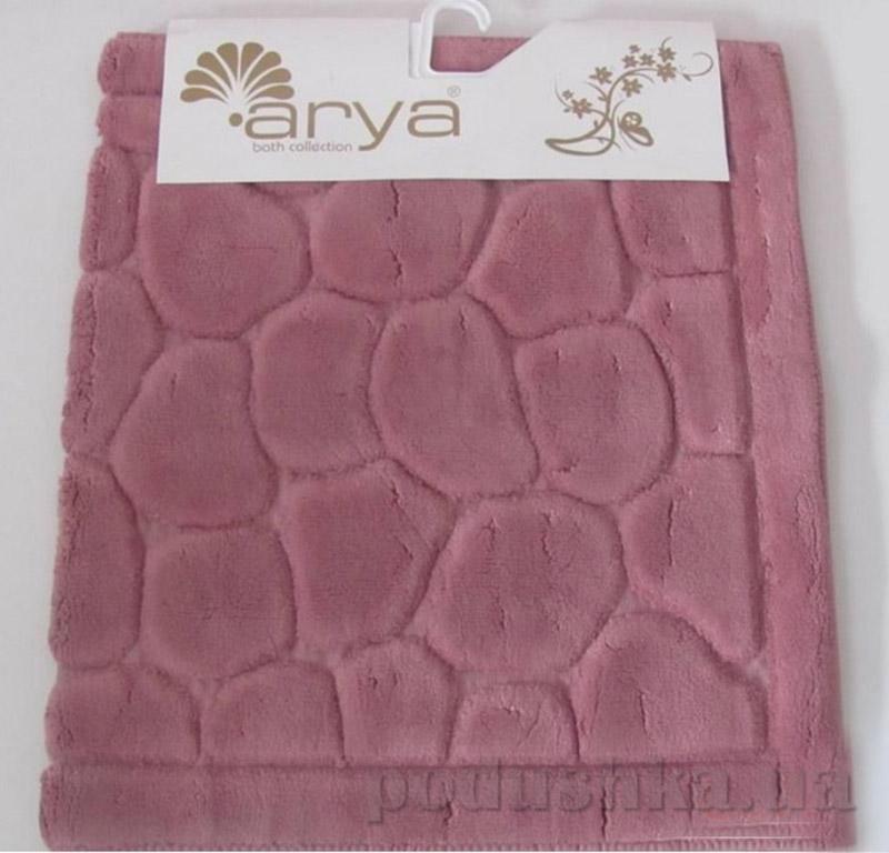 Набор ковриков для ванной комнаты Tas Arya 1380042 темно-розовый