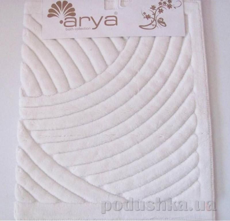 Набор ковриков для ванной комнаты Yazgulu Arya 1380043 белый