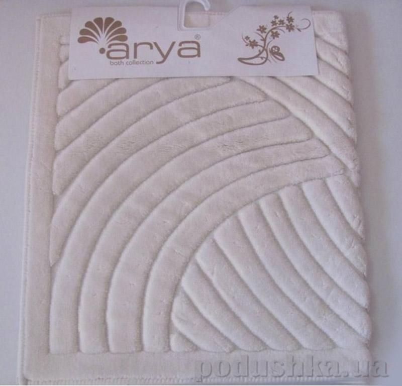 Набор ковриков для ванной комнаты Yazgulu Arya 1380043 кремовый