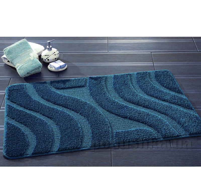 Набор ковриков для ванной Symphony Confetti Durk Blue темно-синие