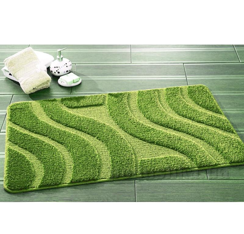 Набор ковриков для ванной Symphony Confetti Green зеленые