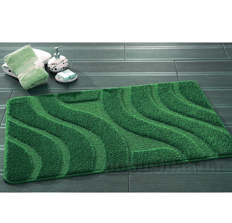 Набор ковриков для ванной Symphony Confetti Hunter Green темно-зеленые