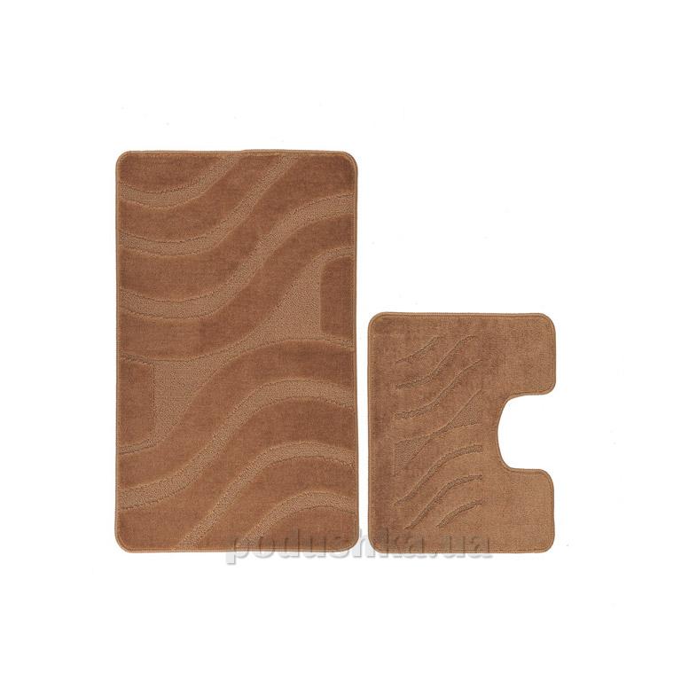 Набор ковриков для ванной Symphony Confetti Light Brown