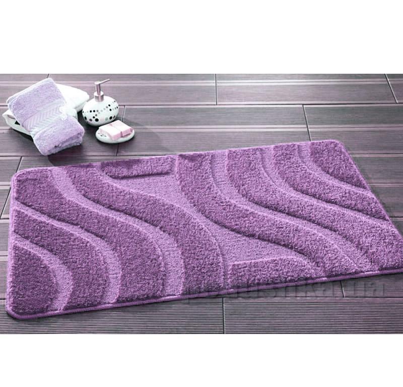Набор ковриков для ванной Symphony Confetti Lilac сиреневые