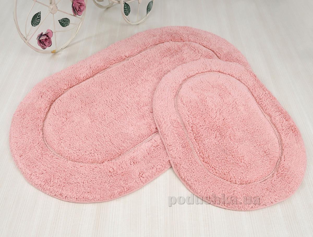 Набор ковриков в ванную Irya Blanco розовый