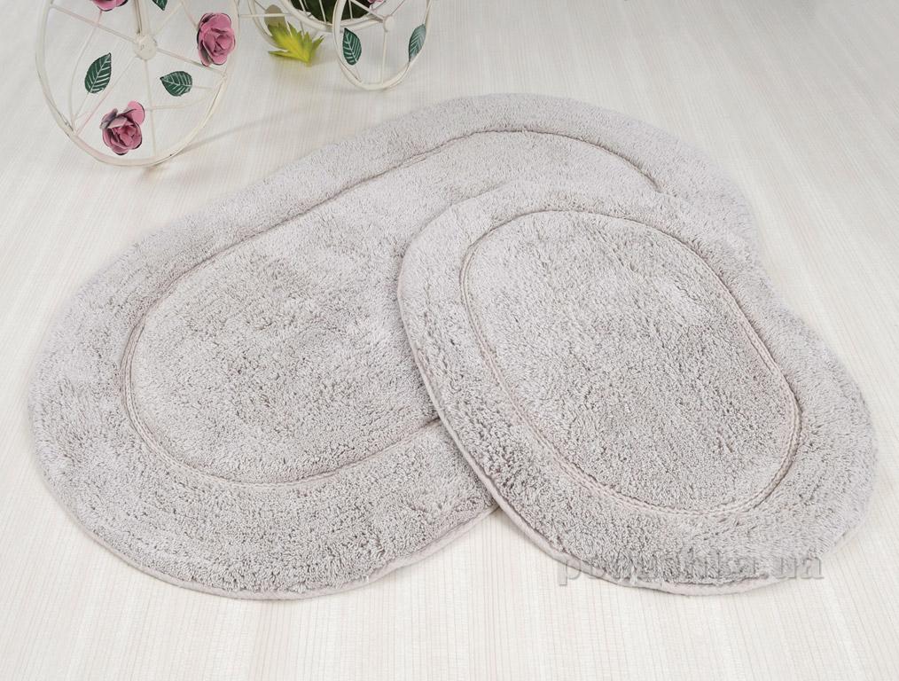 Набор ковриков в ванную Irya Blanco серый
