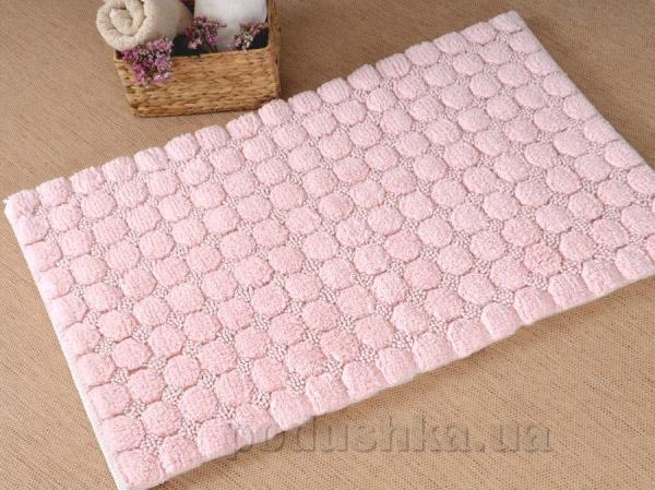 Набор ковриков в ванную Irya Bubble розовый