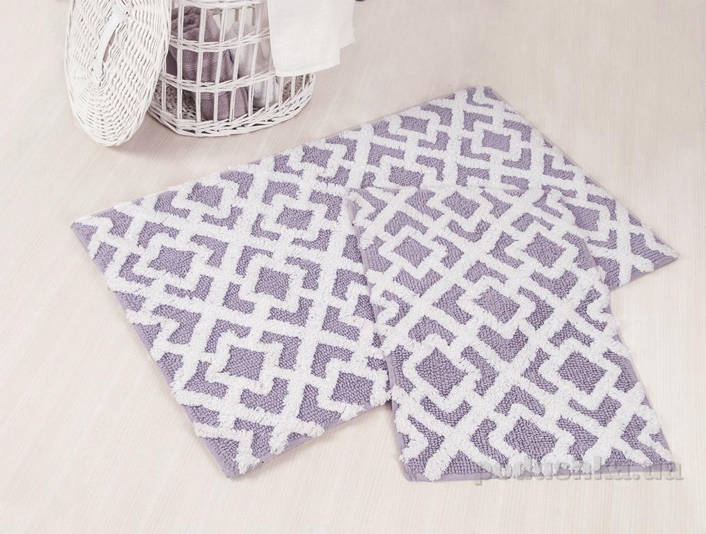 Набор ковриков в ванную Irya Finley лиловый