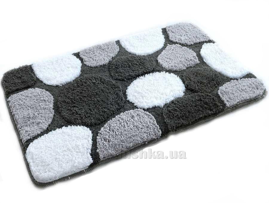 Набор ковриков в ванную Irya Gravel черный